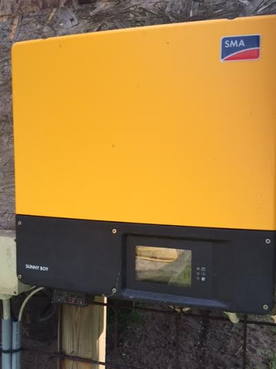 Sun panels control box 1